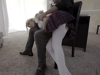 BadTeensPunished - School Girl Flogged