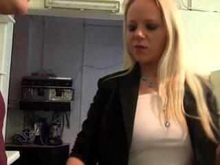 Cheating Blonde German Mom