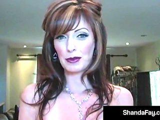 Horny Housewife ShandaFay Gives Hubby A Hot Creamy Facial!