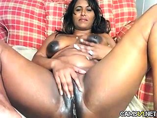 Ghetto Ebony BBW Fingering And Fucked