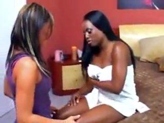Incredible amateur Lesbian, Small Tits xxx scene