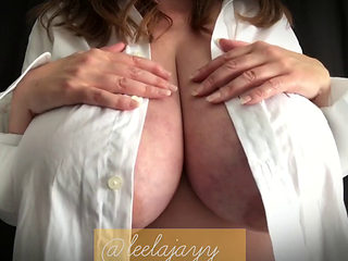 Tit Smacking  Leelajayythe Busty Brunette