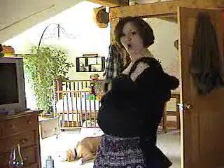Exotic homemade Pregnant, Solo Girl xxx clip