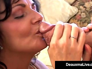 Big Boobed Cougar Deauxma Gets Anal Banged By Horny Hard Fan