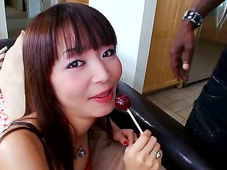 Marica is fresh from Japan and not familiar with American cock -- let alone the massive, black va...