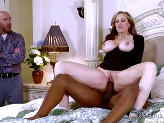 Julia Ann Fucked By A Bbc In Front  Her Husband
