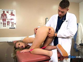 Gorgeous Babe Jillian Janson Gets Poked By Her Hung Doctor