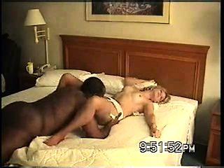Swinger wife Nina fucks black in hotel