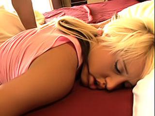 Sleeping slut screwed