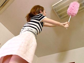 Yui Saejima in Yui Saejima decided to cash her stained panties - AviDolz