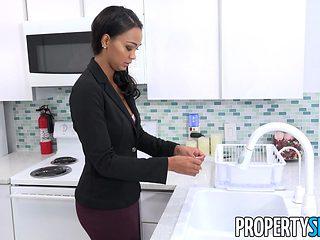 PropertySex Sexy Harley Dean Fucks Upset Tenant