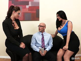 Big Tits at Work: Acing the Interview