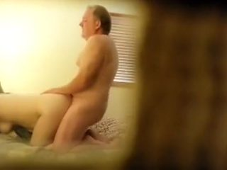 Spying my parents having nice sex