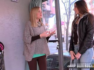 Hot Lesbians Clea Gaultier and Sicilia Scissor plays