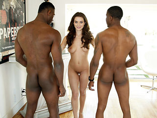 Beautiful Lana Rhoades Has Interracial Threesome