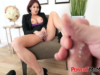 Kinky stepmom teaches stepson how to be acertive with women