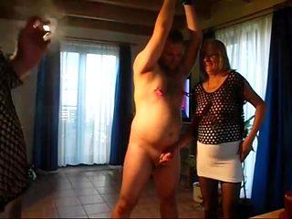 Fabulous amateur Bisexual, Threesomes sex scene