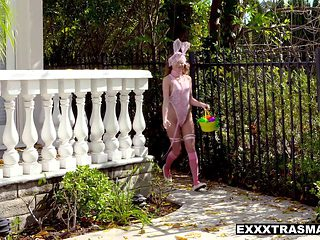ExxxtraSmall - Teeny Easter Bunny Summer Brooks Pounded With Cock