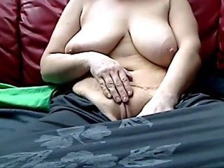 Horny Masturbation, Webcam sex scene