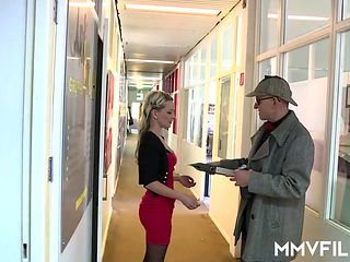 German Married Cheating Secretary Milf