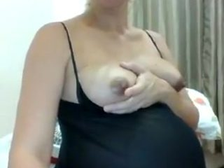 Alone at home on cam - 3 Pregnant