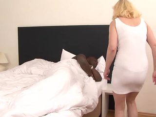 Step Mother black son have ### hardcore interracial