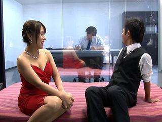 Club Hostess And Club Employee Magic Mirror Fun