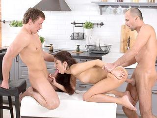 Katty West in Open Relationship - TeenSexMania