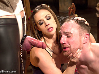Jimmy Bullet & Chanel Preston & Jonah Marx in A Merry Coerced Cock-Sucking Christmas - DivineBitches