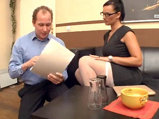 Sexy Milf Boss Sina Velvet Fucked By Her Employee