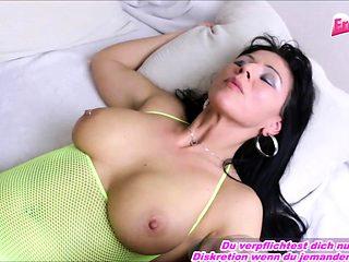 German amateur mature milf big natural tits yellow nylons
