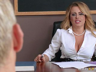 busty teacher fucked by horny student