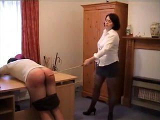 Exotic amateur BDSM, Spanking porn clip
