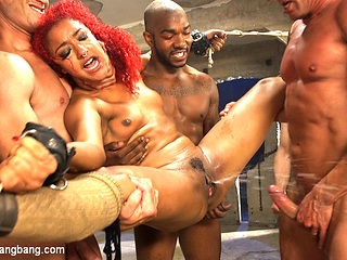 Awakening Of The Beasts: Daisy Ducati Filled With Demon Cream Pie - HardcoreGangbang