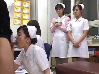 Amazing Japanese girl Yuki Takarabe, Miki Yasuda, Marin Minami in Horny Blowjob JAV video