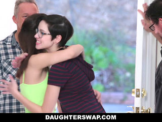 Daughterswap- Naive Teenagers Tricked Into Fucking Their Dads