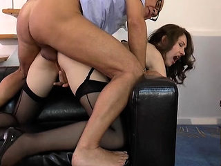 Aged boy gets totally favourable in reality sex scenery