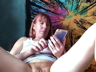 Masturbating while watching myself (tintingirl ) on porn