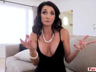 Double jeopardy for my slutty and busty sexy stepmom