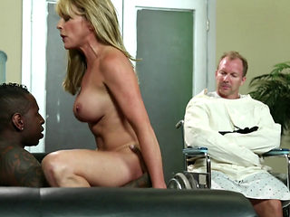 Sexy Blonde Slut And Husband Get Bbc Therapy