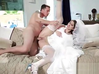 Hot Bride Karina White Gets Dicked Down By Hung Stranger