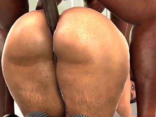Big Ass wife anal