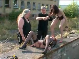 Male Domination outdoors