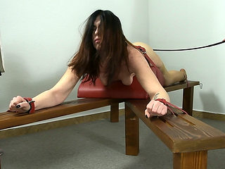Abigel's judicial punishment with the dragon cane