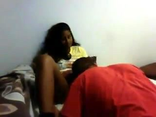Desi chick lets her Friend eat her pussy