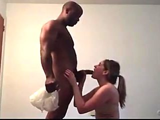 Tattooed Wife Ignores Call from Husband while Blowing BBC