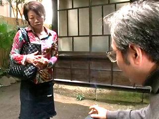 Asian Grandmother Ishimine Etsuko Getting Fucked