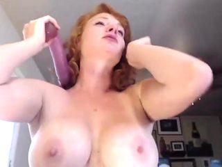 Incredible homemade Deep Throat, Redhead adult video