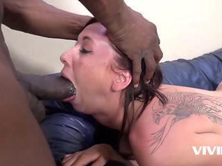 Teen Tight Samantha Bentley Gets Ravaged By A Black Monster