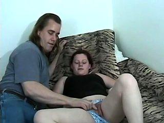 Kori Jerks Her Hairy Pussy Then Takes A Creampie - Kori